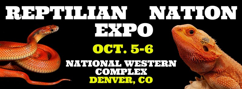 Get Information and buy tickets to REPTILIAN NATION EXPO-DENVER  on Reptilian Nation Expo