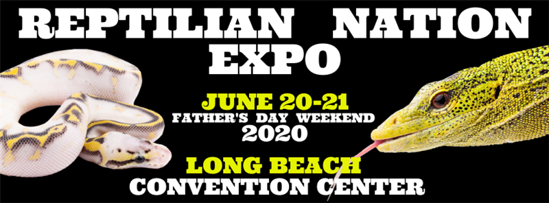 Get Information and buy tickets to REPTILIAN NATION EXPO -LONG BEACH  on Reptilian Nation Expo