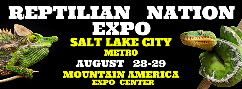Get Information and buy tickets to REPTILIAN NATION EXPO -SALT LAKE CITY METRO  on Reptilian Nation Expo