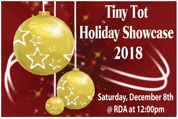Get Information and buy tickets to Tiny Tot Holiday Showcase 2018  on Release Dance Academy