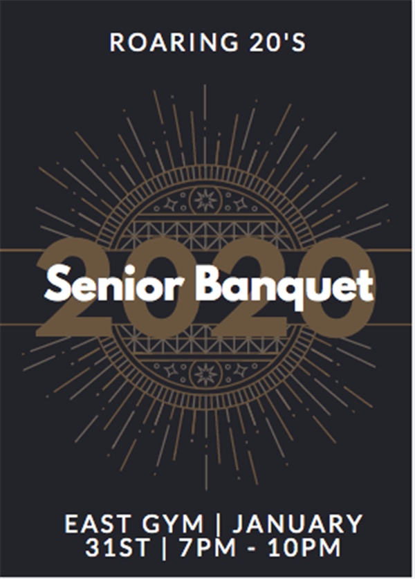 Get Information and buy tickets to Senior Banquet 2020  on HS East