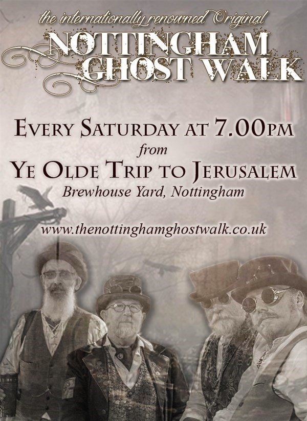 Get Information and buy tickets to The Original Nottingham Ghost Walk  on The Original Nottingham Ghost