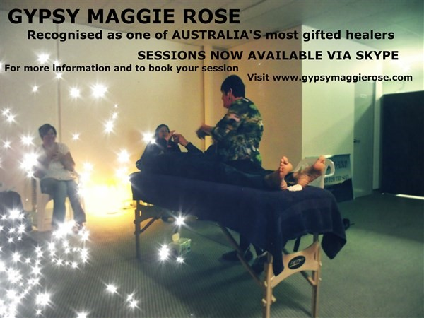 Get Information and buy tickets to INTRO TO PSYCHIC HEALING Healing workshop on Gypsy Maggie Rose.com