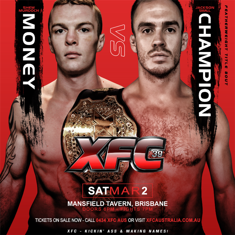 Get Information and buy tickets to XFC 39  on XFC Australia