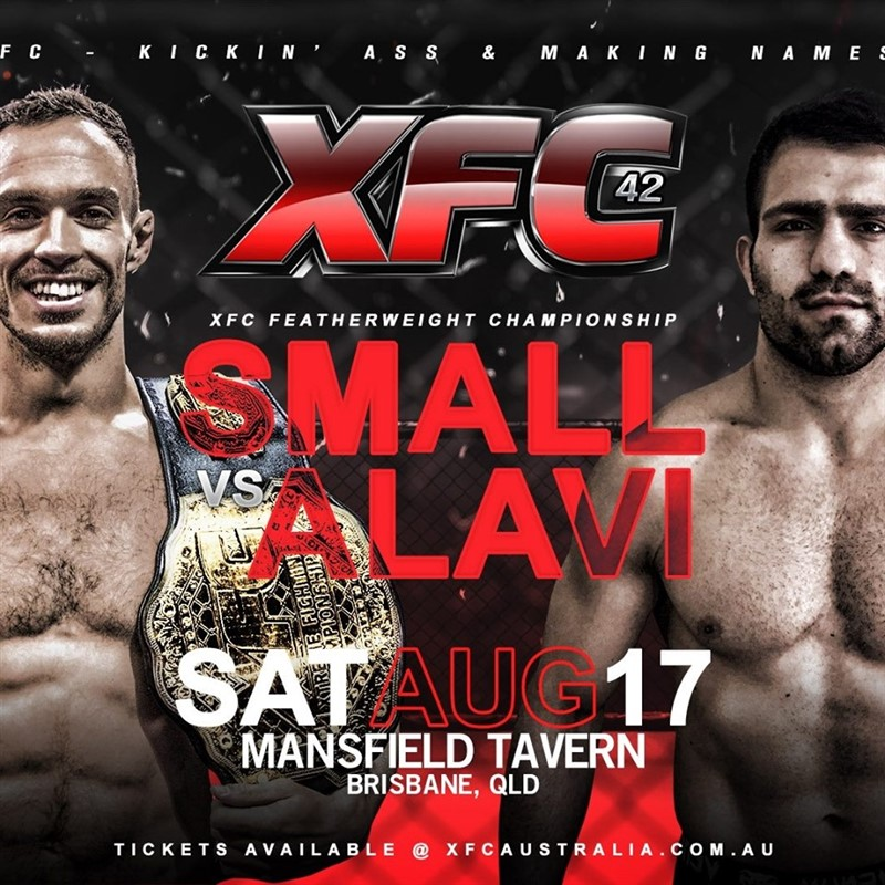 Get Information and buy tickets to XFC 42 Hometown Heroes on XFC Australia