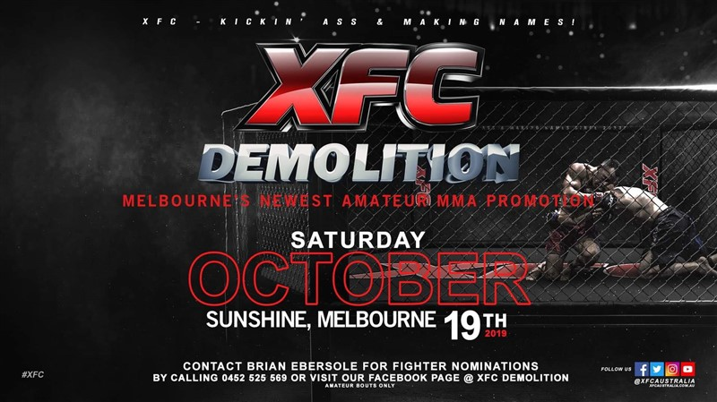 Get Information and buy tickets to XFC Demolition 1  on XFC Australia