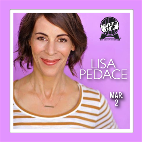Get Information and buy tickets to Lisa Pedace Flamingo Resort Santa Rosa -$20 on The Laugh Cellar