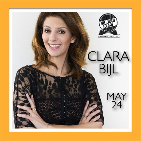 Get Information and buy tickets to Clara Bijl Charles Krug Winery Napa - $20 on The Laugh Cellar
