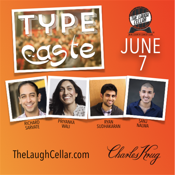 Get Information and buy tickets to Type Cast Comedy! Charles Krug Winery Napa - $20 on The Laugh Cellar