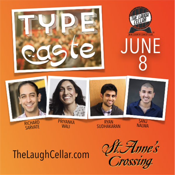 Get Information and buy tickets to Type Cast Comedy! St. Anne