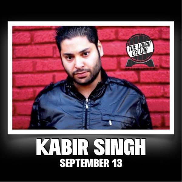 Get Information and buy tickets to Kabir Singh Charles Krug Winery - $20 on The Laugh Cellar