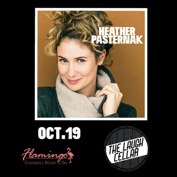 Get Information and buy tickets to Heather Pasternak Flamingo Resort Santa Rosa - $20 on The Laugh Cellar