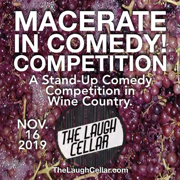 Get Information and buy tickets to Macerate in Comedy Competition! Flamingo Resort - Santa Rosa -$20 on The Laugh Cellar
