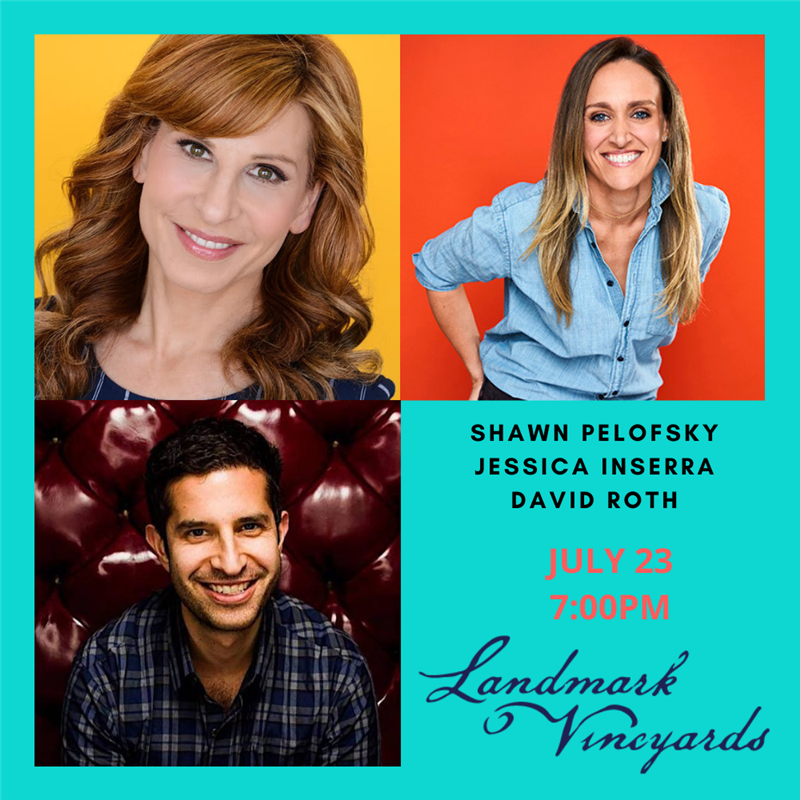 Get Information and buy tickets to 5th Annual Comedy Fest - July 23 Shawn Pelofsky, Jessica Inserra, David Roth on The Laugh Cellar