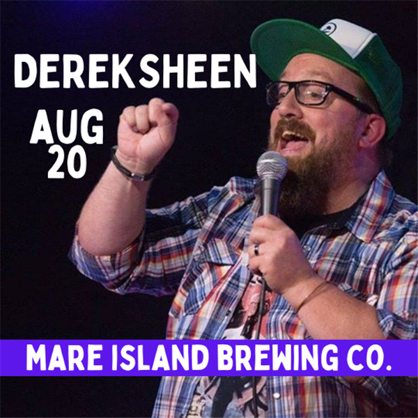 Get Information and buy tickets to Derek Sheen Mare Island Brewing Co. - Comedy Hops! on The Laugh Cellar