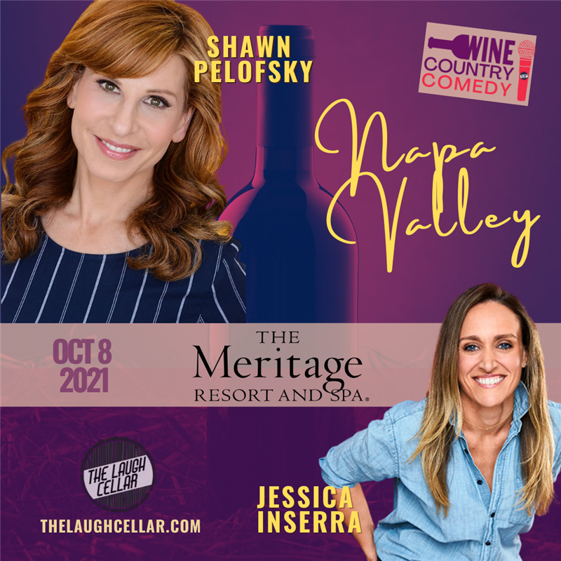 Get Information and buy tickets to Comedian Shawn Pelofsky Meritage Resort Napa on The Laugh Cellar