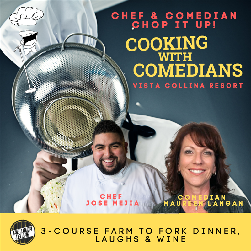 Cooking with Comedians