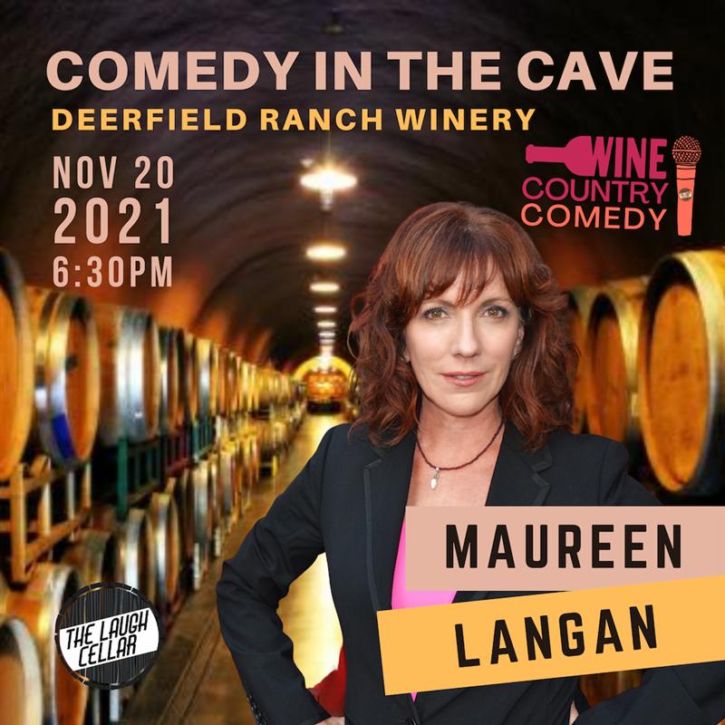 Comedian Maureen Langan