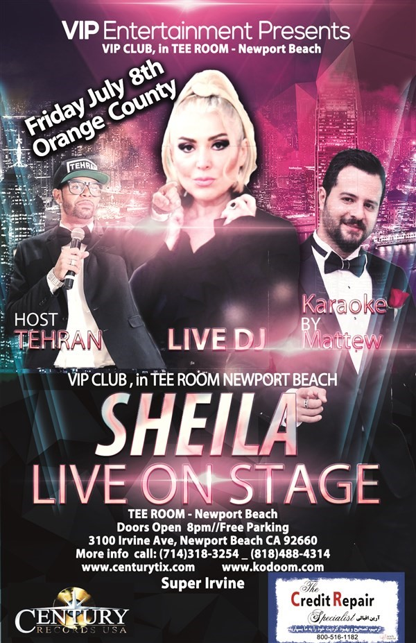 Get Information and buy tickets to Sheila Live On Stage.  on Century Tix