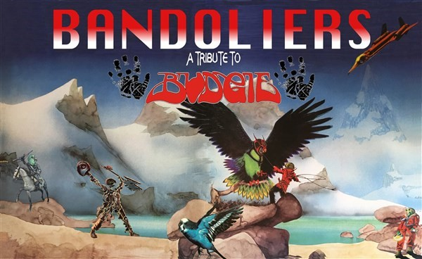 Get Information and buy tickets to Bandoliers (Budgie Tribute) on www.rhonddahotel.com