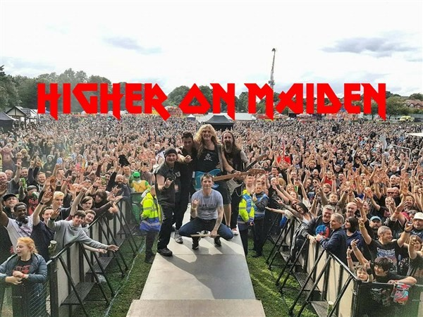 Get Information and buy tickets to Higher On Maiden (Iron Maiden Tribute) on www.rhonddahotel.com