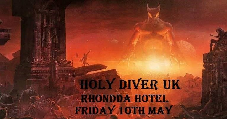 Get Information and buy tickets to Holy Diver Ronnie James Dio Tribute on www.rhonddahotel.com