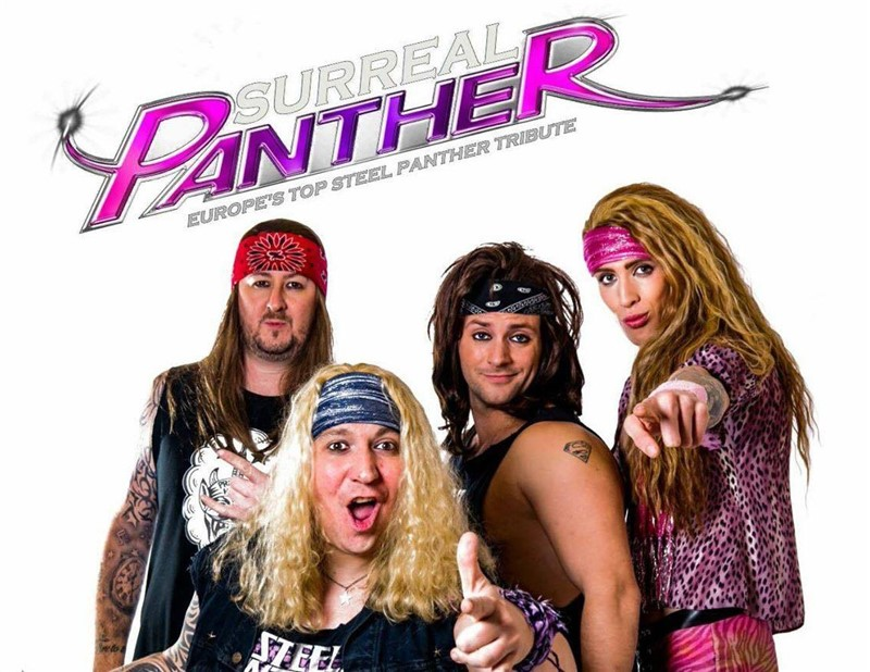 Get Information and buy tickets to Surreal Panther (Steel Panther Tribute) on www.rhonddahotel.com