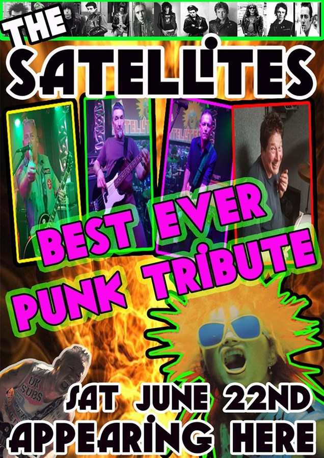 Get Information and buy tickets to The Satellites (Punk Tribute) on www.rhonddahotel.com