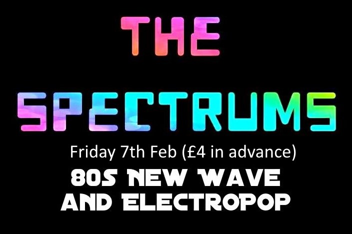 Get Information and buy tickets to The Spectrums (80s Synth Pop) on www.rhonddahotel.com