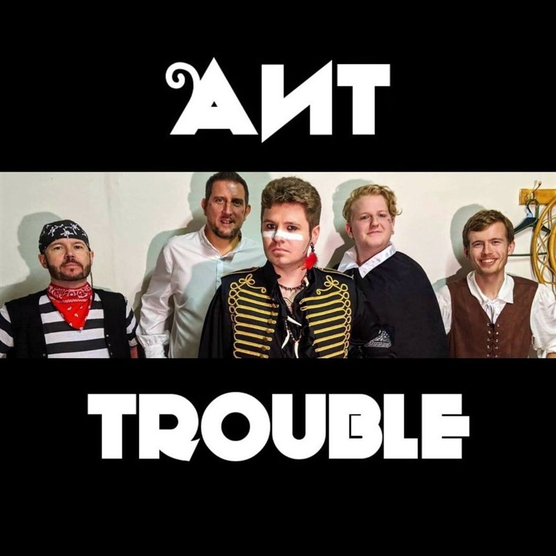 Get Information and buy tickets to Ant-Trouble Adam Ant/Adam and the Ants Tribute on www.rhonddahotel.com