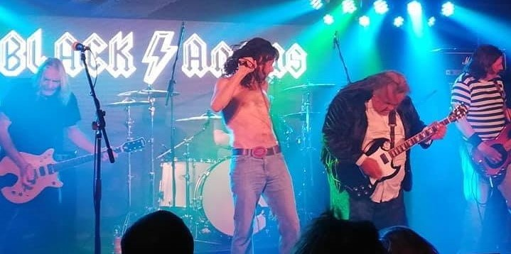 Get Information and buy tickets to Black Angus AC/DC Tribute on www.rhonddahotel.com