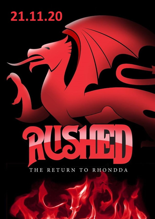 Get Information and buy tickets to Rushed Rush Tribute on www.rhonddahotel.com