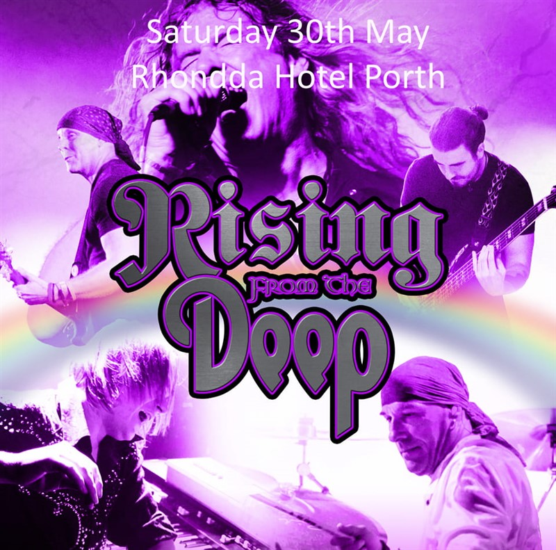 Get Information and buy tickets to Rising From The Deep Deep Purple Rainbow and Whitesnake Tribute Band with a diffe on www.rhonddahotel.com