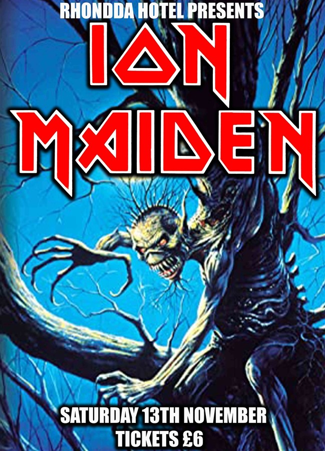 Get Information and buy tickets to Ion Maiden Rescheduled all tickets are still valid on www.rhonddahotel.com