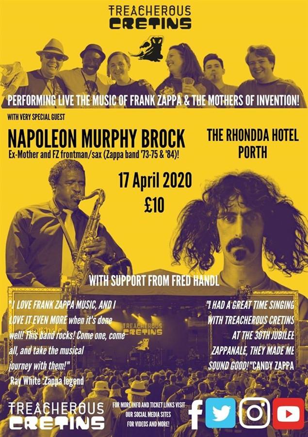 Trecherous Cretins featuring Napoleon Murphy Brock