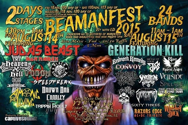 Get Information and buy tickets to Beamanfest Annual 2015 (Valid for Saturday Only) on CaptiveSoundz