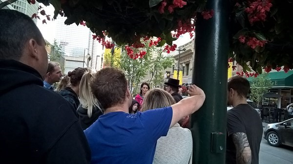 Get Information and buy tickets to Downtown Ghost Walk  on Calgary Ghost Tours