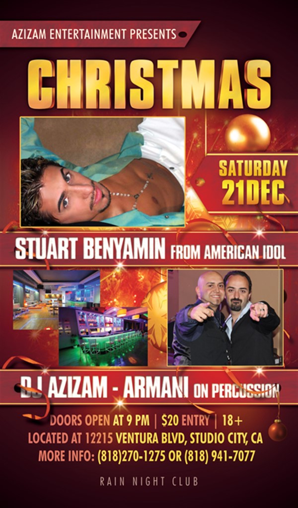 Get Information and buy tickets to Christmas Party 2013 Featuring Stuart Benyamin on Ultimate Entertainment