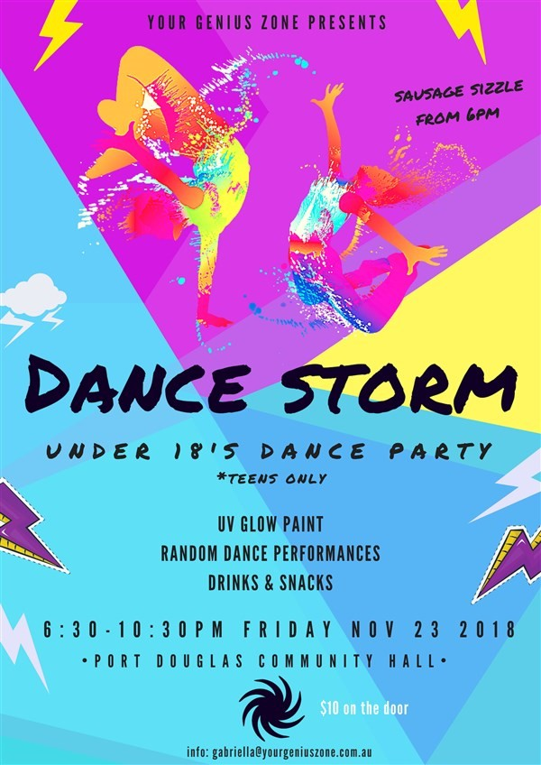 Get Information and buy tickets to DANCE STORM End-of-Year Celebration for Teens! on Your Genius Zone
