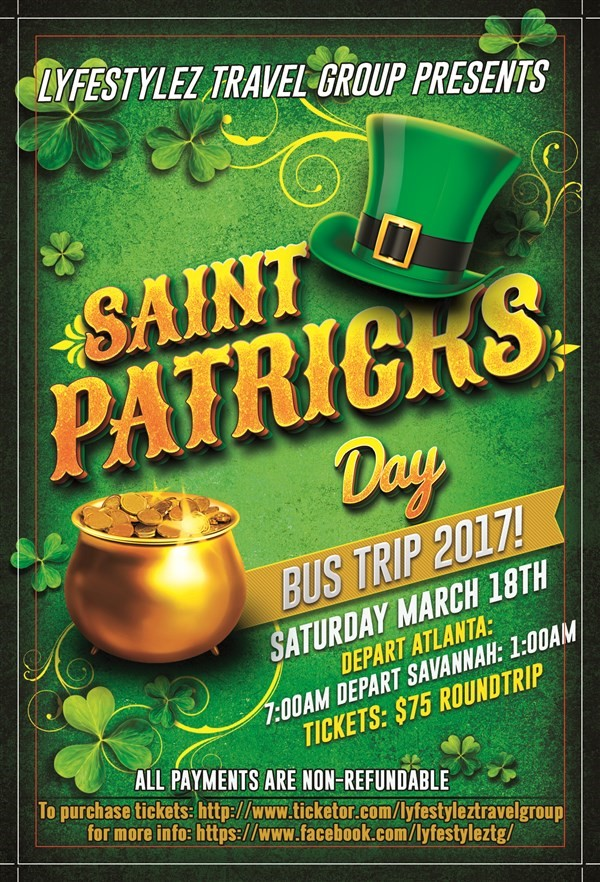 Get Information and buy tickets to St.Patrick