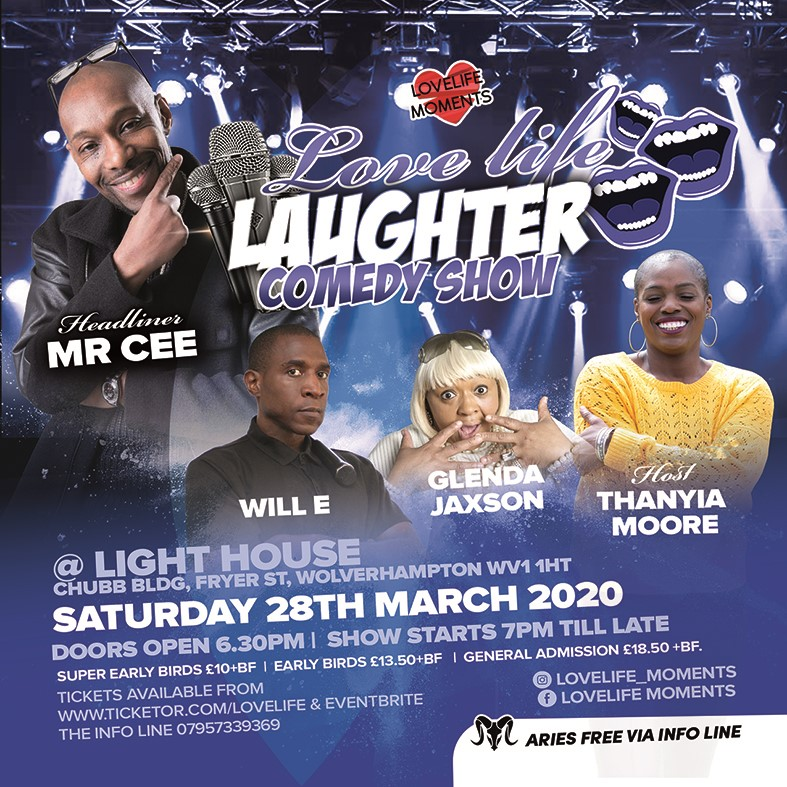 Get Information and buy tickets to LOVELIFE LAUGHTER Aries Edition on LoveLife Moments