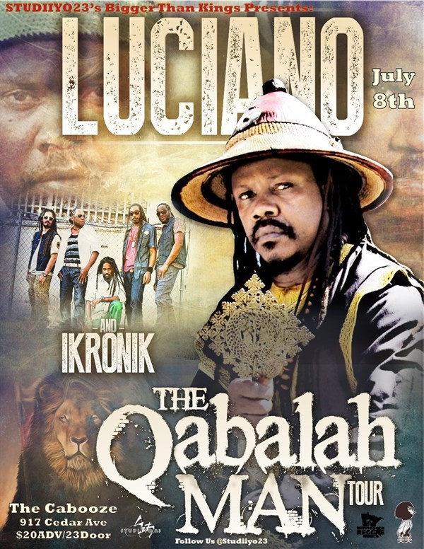 Get Information and buy tickets to LUCINANO THE QABALAL MAN TOUR on Sophia