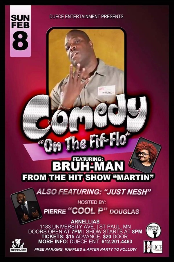 Get Information and buy tickets to COMEDY ON THE FIF - FLO  on Sophia