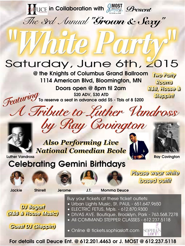 Get Information and buy tickets to White Party  on Sophia