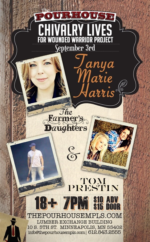 Get Information and buy tickets to THE FARMERS DAUGHTERS W/ GUEST STAR TANYA MARIE HARRIS on Sophia