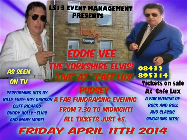 Get Information and buy tickets to EDDIE VEE ROCK N ROLL JUKEBOX LIVE on Glencoe Event Management