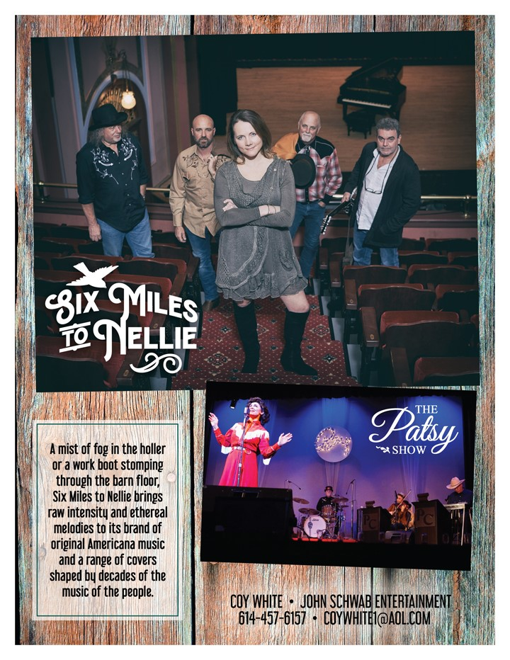 The Patsy Show Featuring Six Miles to Nellie on Oct 02, 19:00@Twin City Opera House - Buy tickets and Get information on operahouseinc.com