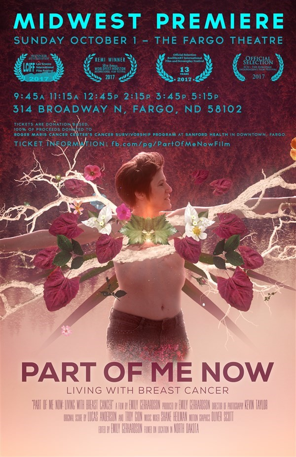 Get Information and buy tickets to Hometown Premiere - Fargo, ND Part Of Me Now: Living With Breast Cancer on Part Of Me Now