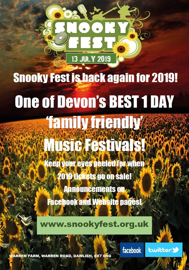 Get Information and buy tickets to Snooky Fest 2019  on The Snooky Trust
