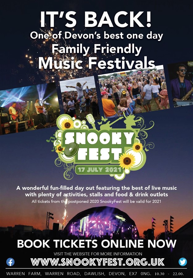 Get Information and buy tickets to Snooky Fest 2021  on The Snooky Trust